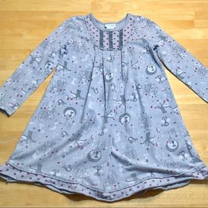 Naartjie Cats Dress Size 7-8